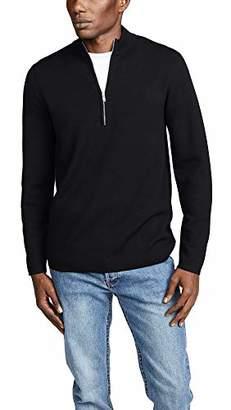 Theory Men's Quarter Zip Wool Sweater