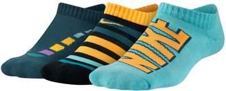 Nike Boys 3-Pack Performance No-Show Socks