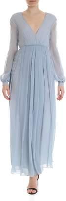 Dondup Silk Long Dress
