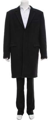 Marc Jacobs Nutria-Lined Cashmere Coat