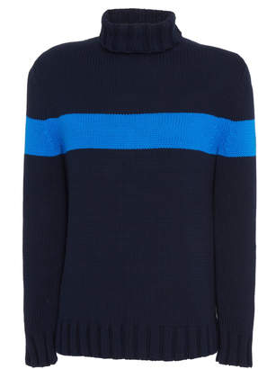 Bogner Andro Colorblock Turtleneck