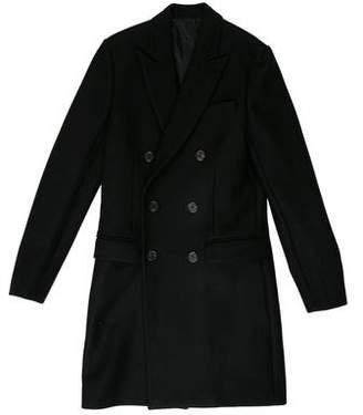 Ami Alexandre Mattiussi Wool Button-Up Coat w/ Tags