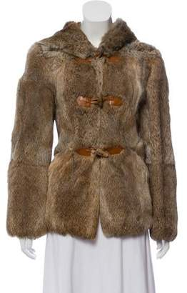 Etro Hooded Fur Jacket