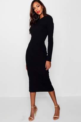 boohoo Tall Tailored Midi Dress