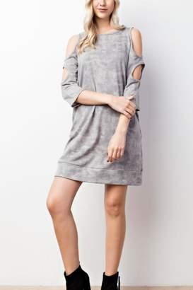 Mittoshop Coldshoulder Pocket Dress