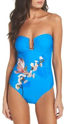 Ted Baker Harmony Bandeau One-Piece Swimsuit