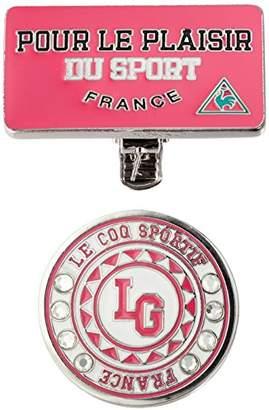 Le Coq Sportif (ル コック スポルティフ) - [ルコックスポルティフゴルフ]クリップマーカー PK00(ピンク)