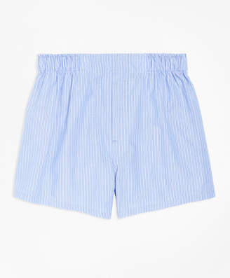 Brooks Brothers Boys Pencil Stripe Boxers