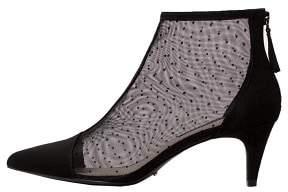 Violeta BY MANGO Heel plumeti boots