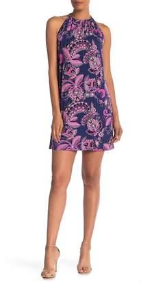 Trina Turk Juju Printed Halter Dress