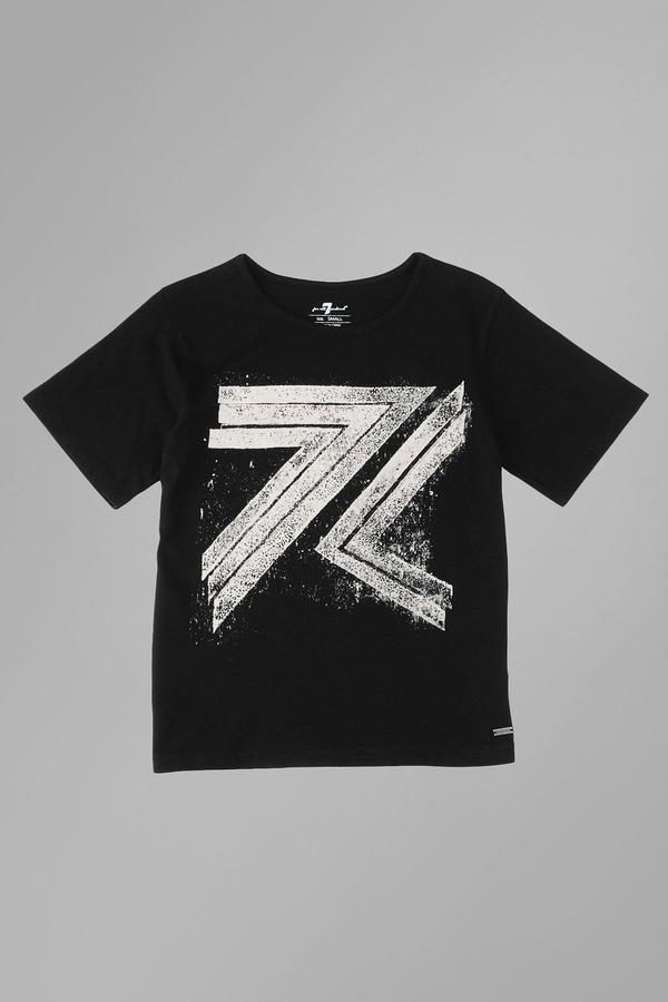 7 For All Mankind Boys 4-7 Flynt Logo Tee