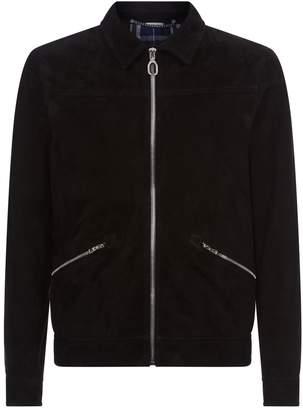Lanvin Suede Zipped Jacket