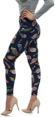 Lush LMB Moda Extra Soft Leggings with Designs- Variety of Prints -OS
