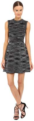 M Missoni Spacedye Short Sleeve Dress Women's Dress