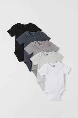 H&M 5-pack bodysuits