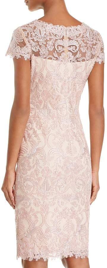 Tadashi Shoji Cap Sleeve Lace Dress 2