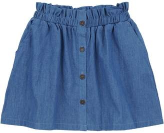 Jessica Simpson Girl's The Woodlands A-Line Cotton Chambray Skirt