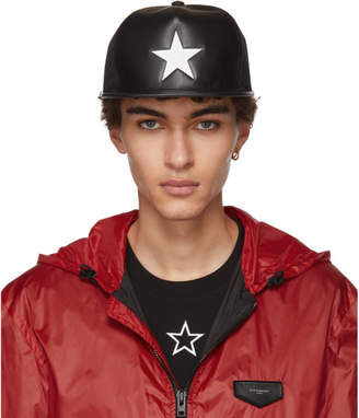 Givenchy Black Star Cap