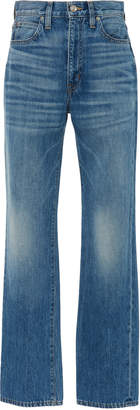 SLVRLAKE Denim London High-Waisted Straight-Leg Jeans