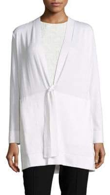 Lafayette 148 New York Tie-Front Cardigan