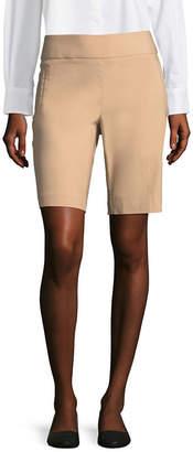 Liz Claiborne 10 Classic Fit Welt Pocket Bermuda Shorts