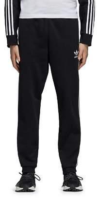 adidas Three-Stripe French Terry Sweatpants