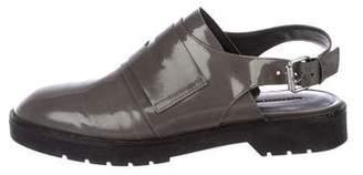 Alexander Wang Leather Slingback Sandals