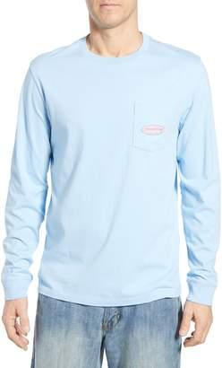 4d3def109 Men's Long Sleeve Vineyard Vines Logo Shirt - ShopStyle
