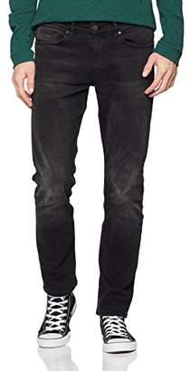 BOSS Men's Delaware Bc-p Straight Jeans, (Black 008), W33/L30