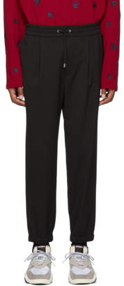 McQ Black Tailored Track Trousers