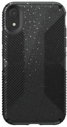 Speck iPhone Xr Presidio Grip + Glitter Case
