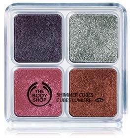 The Body Shop Sugar Plum Shimmer Cubes - Palette 07