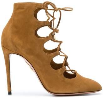 Aquazzura Flirt laced boots