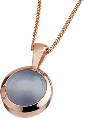 Celesta Women 925 Silver Grey Cat's Eye FINENECKLACEBRACELETANKLET