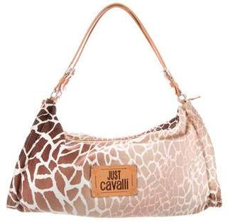 Pre Owned At Therealreal Just Cavalli Animal Print Bag