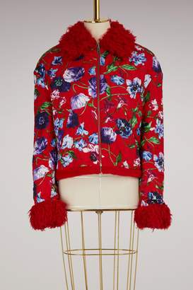 Kenzo Zipped jacket with flowers