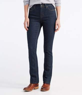 L.L. Bean L.L.Bean True Shape Jeans, Slim-Leg