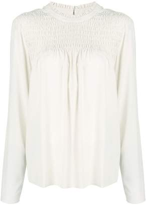 Steffen Schraut draped detail blouse
