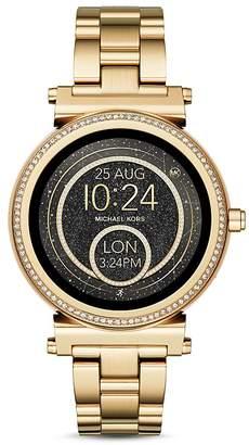 Michael Kors Sofie Gold-Tone Touchscreen Smartwatch, 42mm