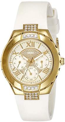 GUESS Watch Wrist Watch with Quartz Movement, Stainless Steel, women