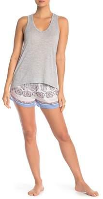 PJ Salvage Vintage Paisley Pajama Shorts