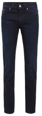 BOSS Hugo Slim-fit jeans in blue-black stretch denim 36/32 Dark Blue