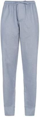 Zimmerli Cotton Diagonals Pyjama Bottoms