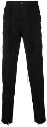 John Undercover raw trim skinny trousers