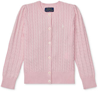 Polo Ralph Lauren Ralph Lauren Toddler Girls Cable Cardigan