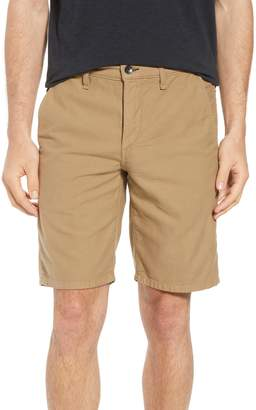 Rag & Bone Straight Leg Chino Shorts