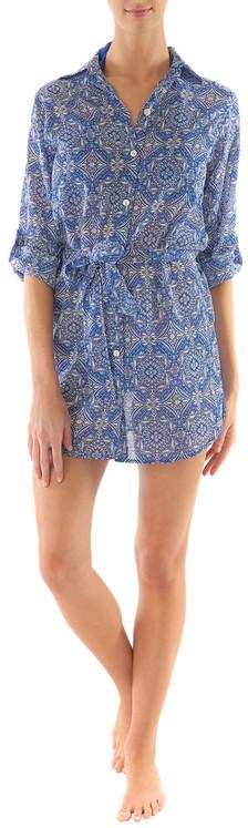 Helen Jon - Shirt Dress-Riviera
