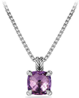 David Yurman 11mm Châtelaine Faceted Pendant Necklace