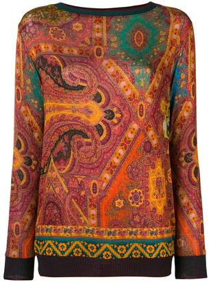 Etro paisley sweater