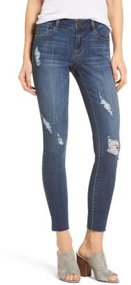 1822 Denim Decon Distressed Skinny Jeans